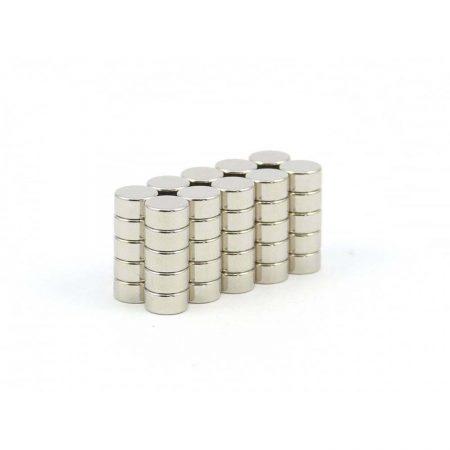 6mm x 3mm neodymium magnets pack of 50