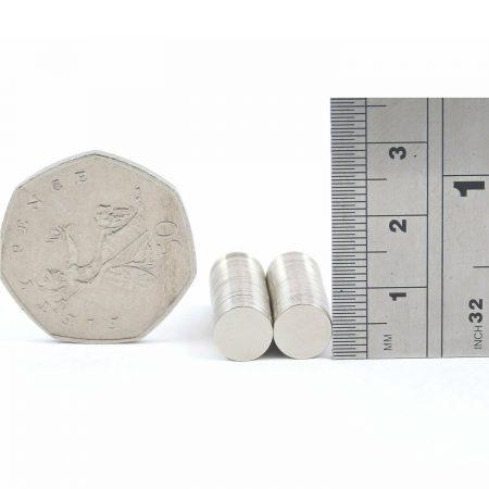 8mm x 0.5mm neodymium magnets pack of 50