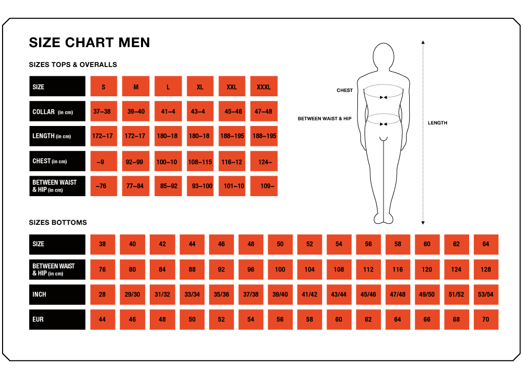 herock size chart for tops uk sizing