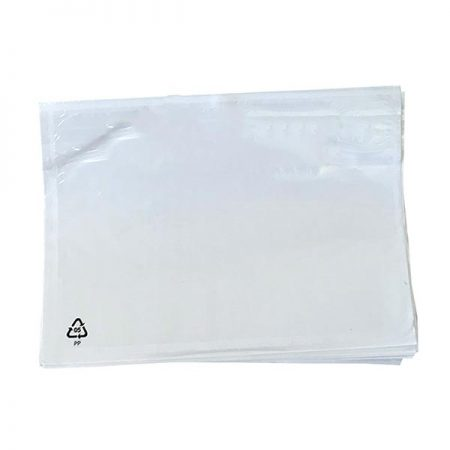 documents enclosed clear wallet for a4 size pack of 500