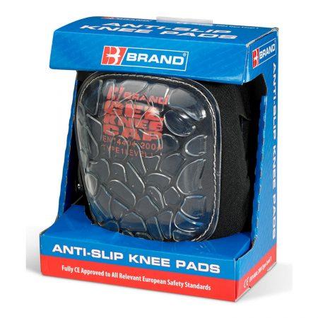 gel anti slip knee pads in packaging
