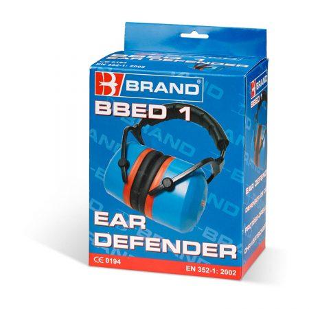 premium folding ear defenders in packaging