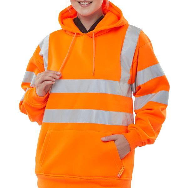 b-seen-hi-vis-orange-hoodie-pullover