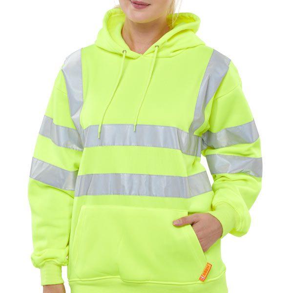 b-seen-hi-vis-yellow-hoodie-pullover