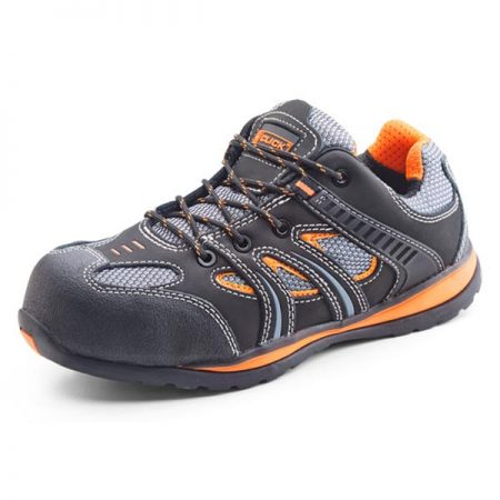 click action trainer in black and orange