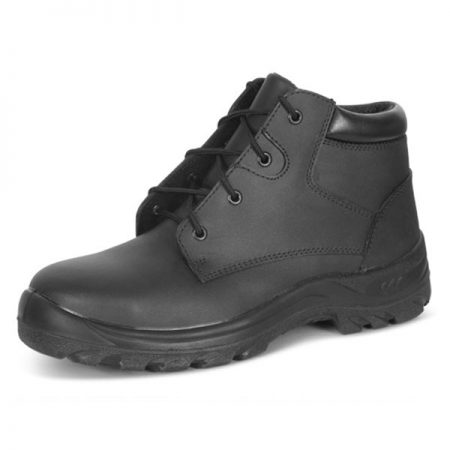click ladies chukka boot in black