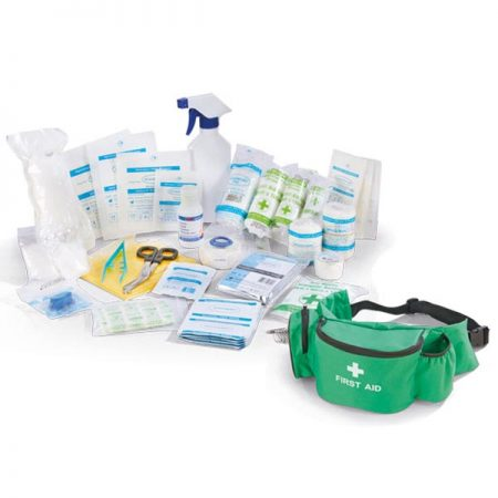 click medical single person first aid kit bumbag