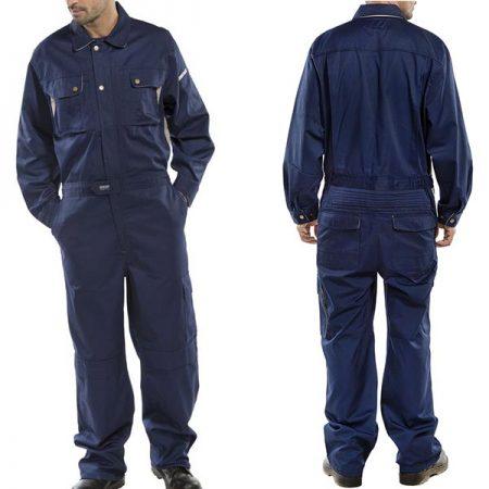 click premium boilersuit in navy