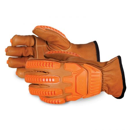 Endura lined anti impact drivers gloves