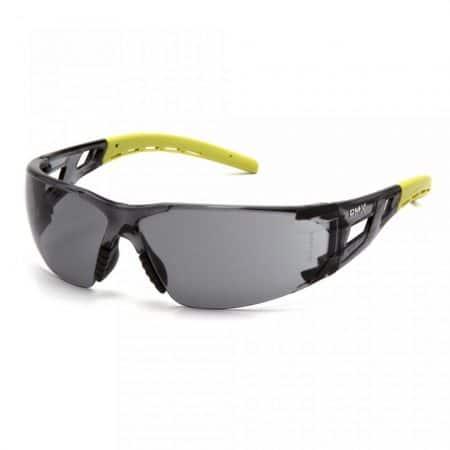 pyramex fyxate glasses with grey anti fog lens