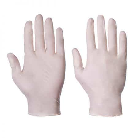 Safetouch latex powder-free gloves