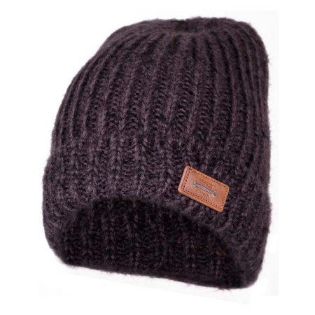 herock knitted grey beanie hat