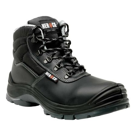 herock constructor s3 safety boots in black
