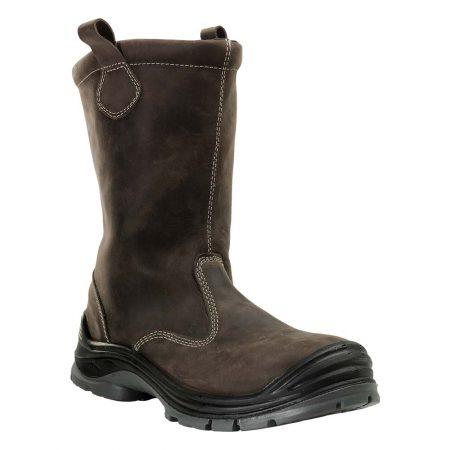 herock crixus water resistant safety boots in brown