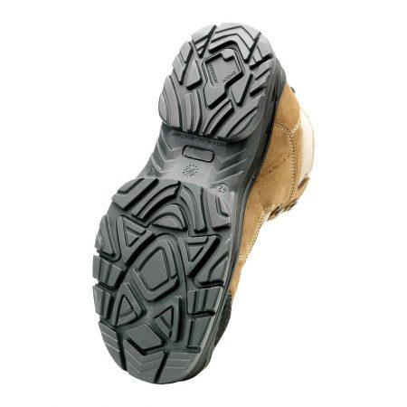 herock cross safety boots in beige sole