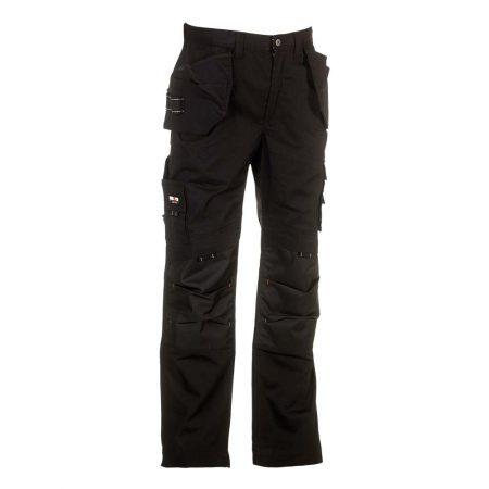 herock dagan black work trousers