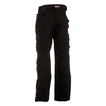 herock dagan black work trousers reverse