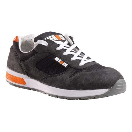 herock gannicus s1p safety trainers in grey