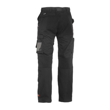 herock hector work trousers in black reverse