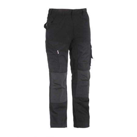 herock hector work trousers in black