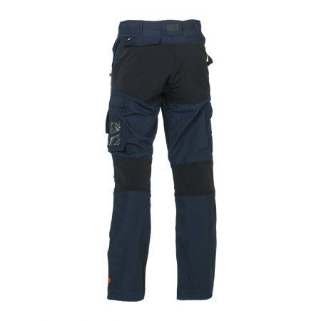 herock hector work trousers in navy and black reverse