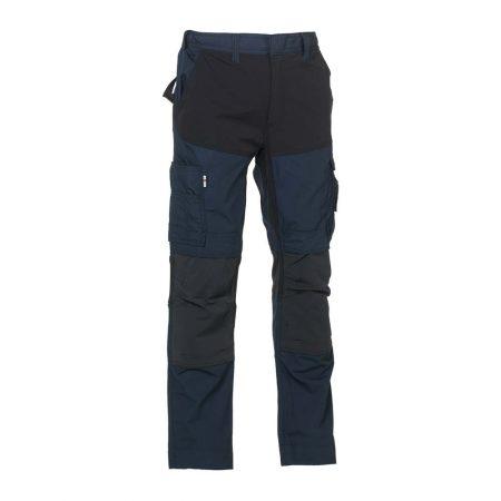 herock hector work trousers in navy and black