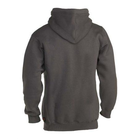 herock hesus hooded sweatshirt in dark grey reverse