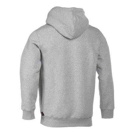 herock hesus hooded sweatshirt in light grey reverse