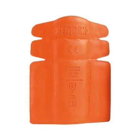 herock knee pad inserts in orange reverse