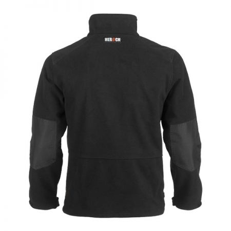 herock markus fleece jacket in black reverse