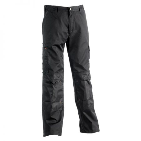 herock mars work trousers in black