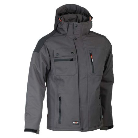 herock persia jacket in grey