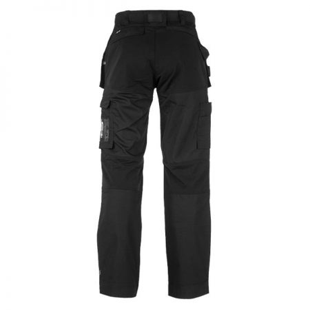 herock spector work trousers in black reverse