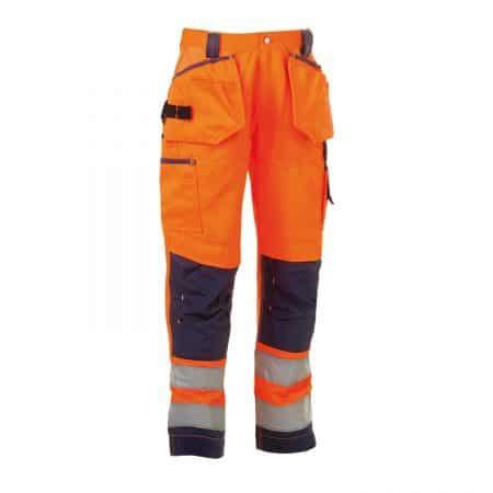 herock orange and navy hi vis trousers