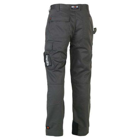herock titan grey workwear trousers reverse