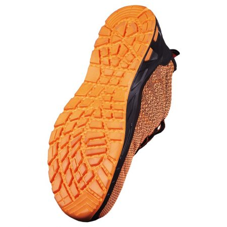 herock safety trainer orange sole