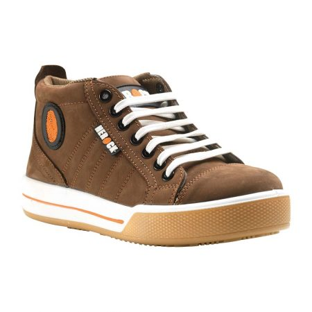 herock tuxedo safety trainer in brown