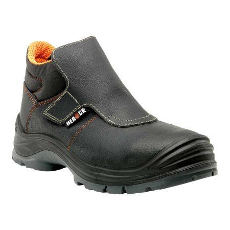 herock volcanus welding safety boots in black