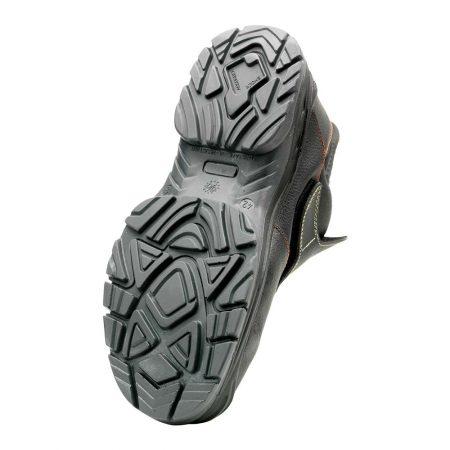 herock volcanus welding safety boots in black sole