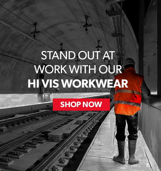 stand out at work with our hi vis workwear