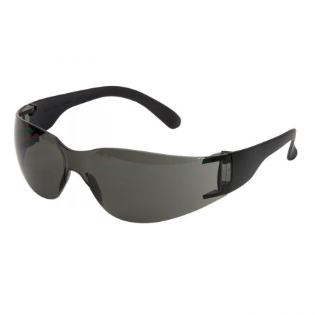 supertouch safety glasses with black lens