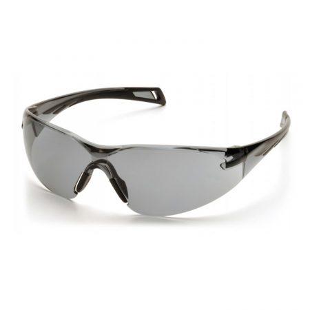 Pyramex PMXSLIM safety glasses in grey anti fog lens