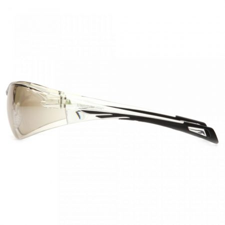 pyramex safety glasses mirrored side view