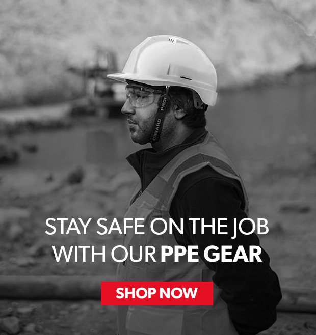 stay safe on the job with our ppe gear