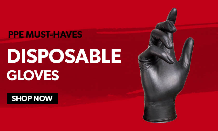 ppe must haves disposable gloves