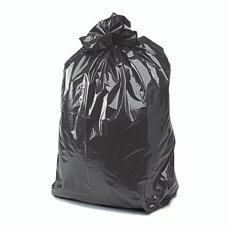 refuse black bin bags