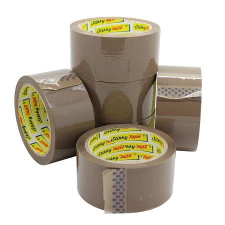 6 rolls of parcel tape