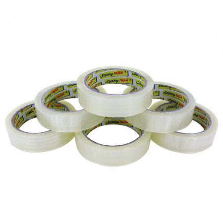 stikky tape cellotape six rolls