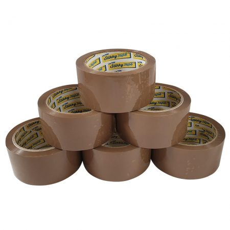 stikky tape low noise brown parcel tape