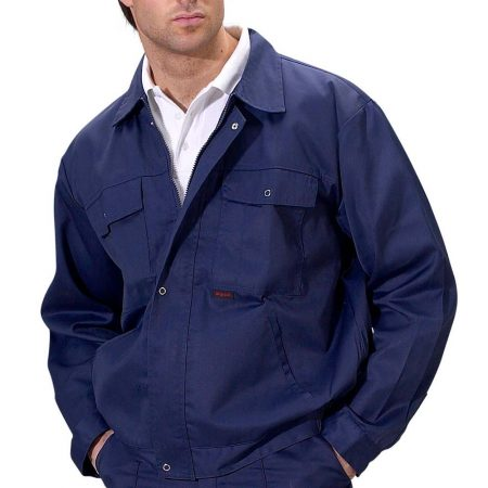 super click drivers jacket in navy